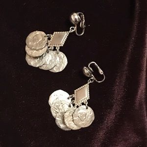 Vintage  beautiful hand crafted earrings